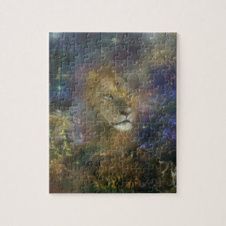 Lion King of Jungle Beasts Jigsaw Puzzle