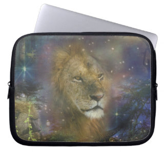 Lion King of Jungle Beasts Laptop Computer Sleeve