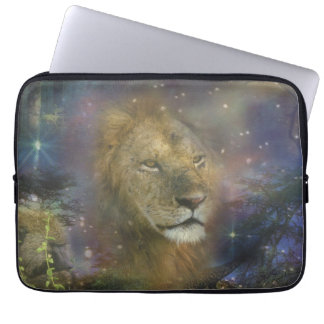 Lion King of Jungle Beasts Laptop Computer Sleeves