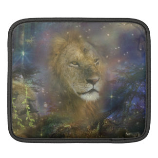 Lion King of Jungle Beasts Sleeves For iPads