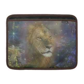 Lion King of Jungle Beasts Sleeves For MacBook Air