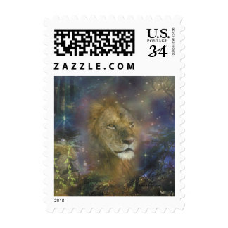 Lion King of Jungle Beasts Stamp