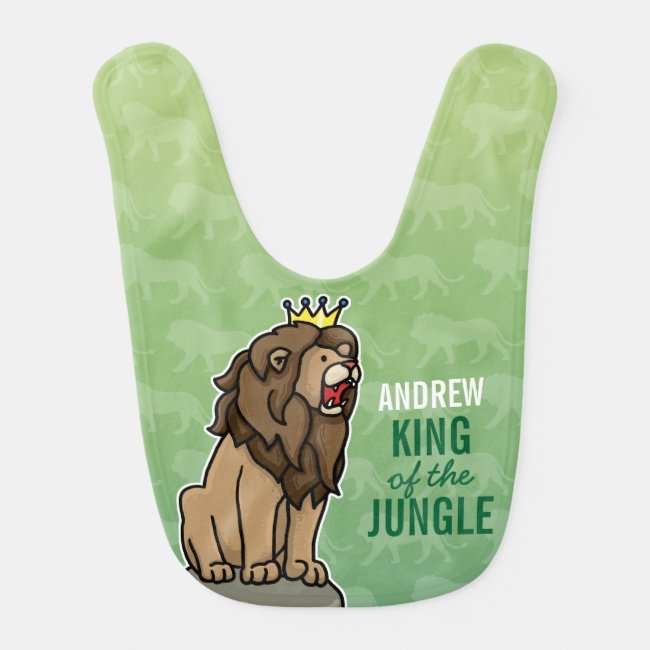 Lion King of the Jungle, Add Child's Name