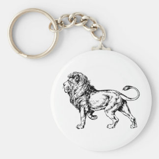 Lion - King of the Jungle Keychain