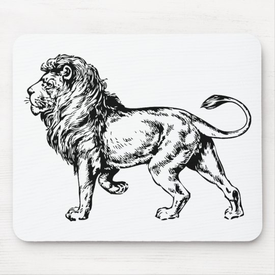 Lion - King of the Jungle Mouse Pad