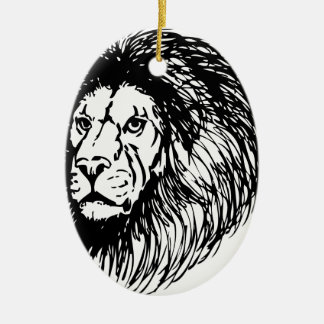 lion - king of the jungle ornament