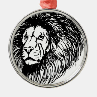 lion - king of the jungle christmas tree ornaments