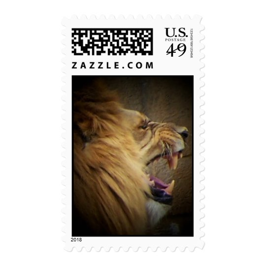 Lion King of the Jungle Postage