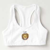 Lion King of the Jungle Sports Bra