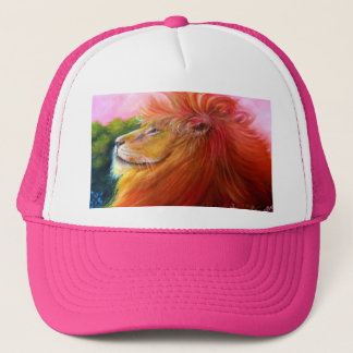 Lion King of the Jungle Trucker Hat