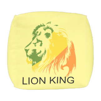 LION KING OUTDOOR POUF