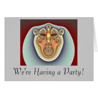 Lion King Party Card