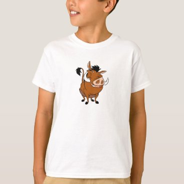 Disney Themed Lion King Pumba Smiling T-Shirt