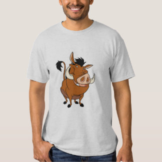 Lion King Pumbaa Similing Disney Shirt