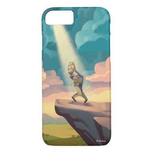 Lion King | Rafiki Presenting Simba Graphic iPhone 8/7 Case