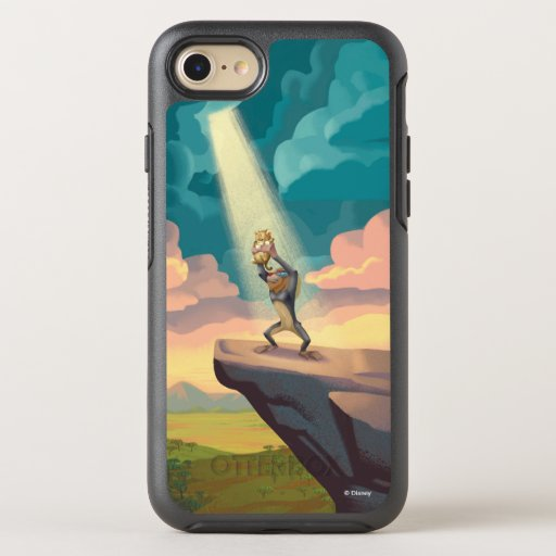 Lion King | Rafiki Presenting Simba Graphic OtterBox Symmetry iPhone 8/7 Case