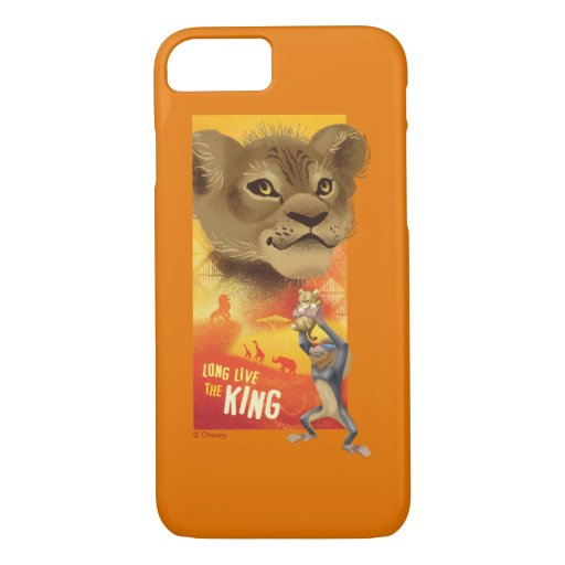 Lion King | Simba Collage Graphic iPhone 8/7 Case