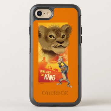 Lion King   Simba Collage Graphic OtterBox Symmetry iPhone 8/7 Case