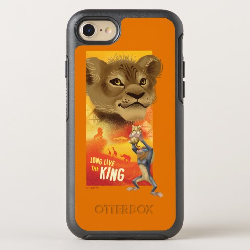 Lion King | Simba Collage Graphic OtterBox Symmetry iPhone 8/7 Case