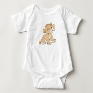 Lion King Simba cub butterfly on nose Disney Tshirt