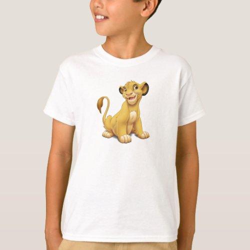 Lion King Simba cub playful Disney T_Shirt