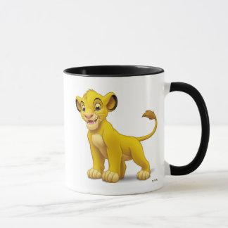 Lion King Simba cub standing Disney Mug