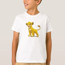 Lion King Simba cub standing Disney T-Shirt