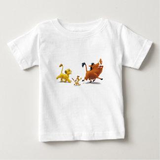 Lion King Simba cub timon pumbaa singing trotting Baby T-Shirt