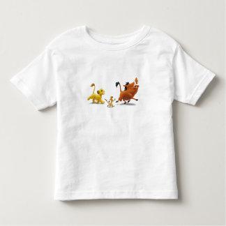 Lion King Simba cub timon pumbaa singing trotting T Shirt