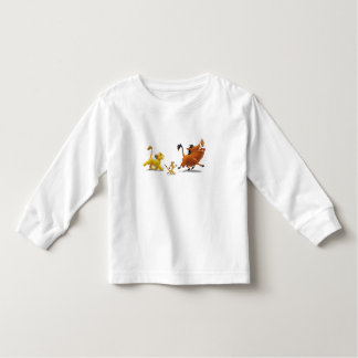 Lion King Simba cub timon pumbaa singing trotting Toddler T-shirt