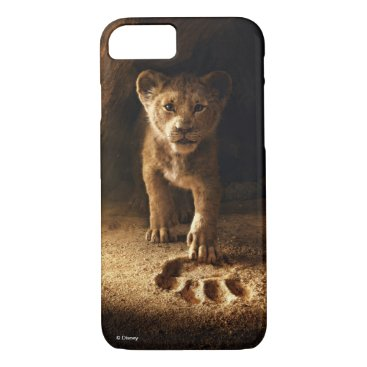 Lion King   Simba Following In Mufasa's Step iPhone 8/7 Case