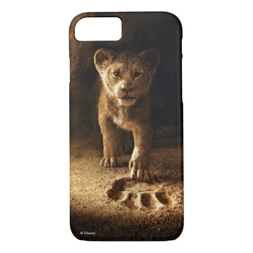 Lion King | Simba Following In Mufasa's Step iPhone 8/7 Case