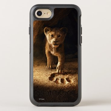Lion King   Simba Following In Mufasa's Step OtterBox Symmetry iPhone 8/7 Case