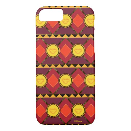 Lion King | Simba Icon African Style Pattern iPhone 8/7 Case
