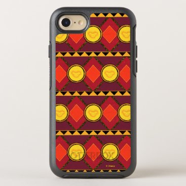 Lion King   Simba Icon African Style Pattern OtterBox Symmetry iPhone 8/7 Case