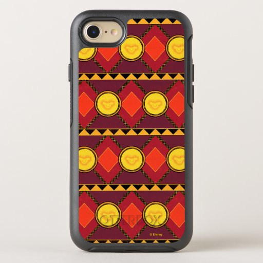 Lion King | Simba Icon African Style Pattern OtterBox Symmetry iPhone 8/7 Case