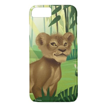 Lion King   Simba In The Jungle iPhone 8/7 Case