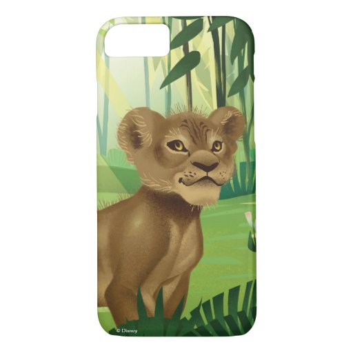 Lion King | Simba In The Jungle iPhone 8/7 Case