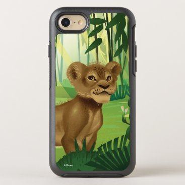 Lion King   Simba In The Jungle OtterBox Symmetry iPhone 8/7 Case