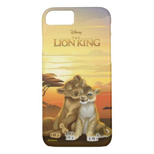 Lion King | Simba & Nala At Sunset iPhone 8/7 Case