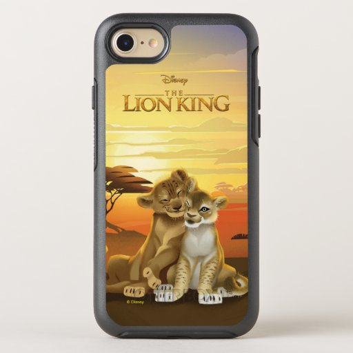 Lion King | Simba & Nala At Sunset OtterBox Symmetry iPhone 8/7 Case