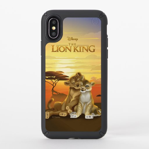 Lion King | Simba & Nala At Sunset Speck iPhone XS Case