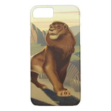 Lion King   Simba On Pride Lands iPhone 8/7 Case