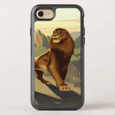 Lion King   Simba On Pride Lands OtterBox Symmetry iPhone 8/7 Case