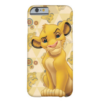 Lion King | Simba on Triangle Pattern Barely There iPhone 6 Case