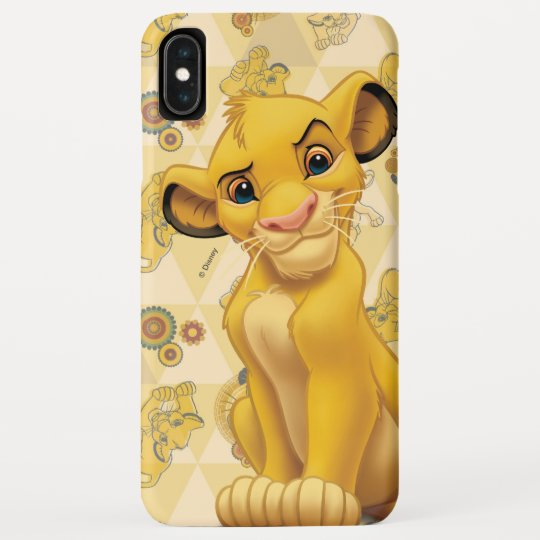 DISNEY THE LION KING CHARACTERS FACE iphone case