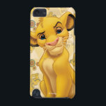 "Lion King | Simba on Triangle Pattern iPod Touch (5th Generation) Case<br><div class=""desc"">Lion King: Simba</div>"