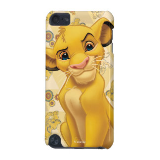 Lion King | Simba on Triangle Pattern iPod Touch (5th Generation) Case
