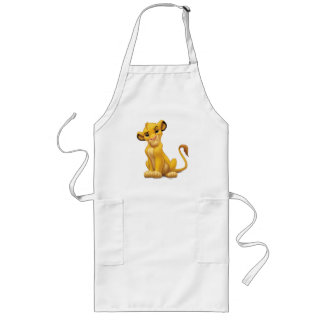 Lion King | Simba on Triangle Pattern Long Apron