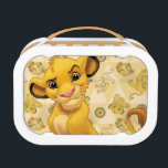 """Lion King   Simba on Triangle Pattern Lunch Box<br><div class=""""desc"""">Lion King: Simba</div>"""